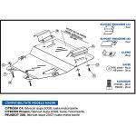 Scut Motor Metalic Citroen C4