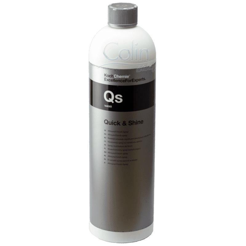 Quick detailer koch chemie quick and shine 1l for Koch quick shine