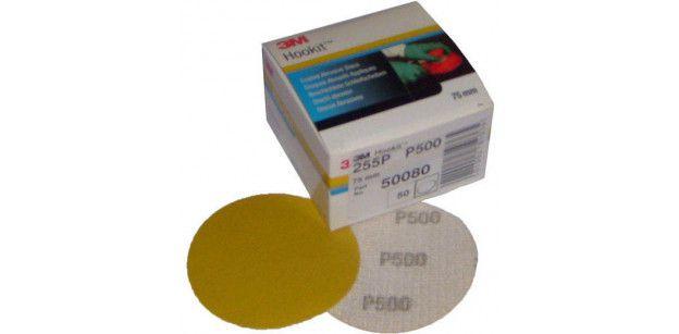 Disc 255P HOOKIT P500 76mm 3M