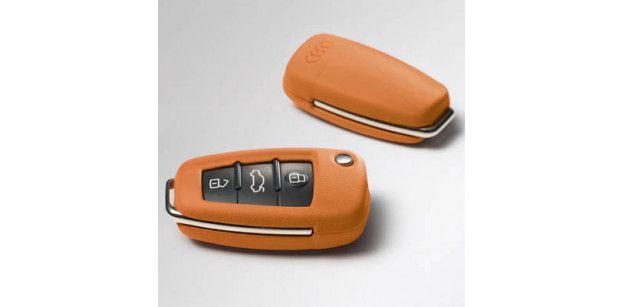 Carcasa Cheie Piele Audi OE - Amber