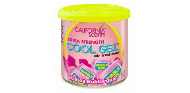 ODORIZANT COOL GEL BUBBLE GUM - CALIFORNIA SCENTS