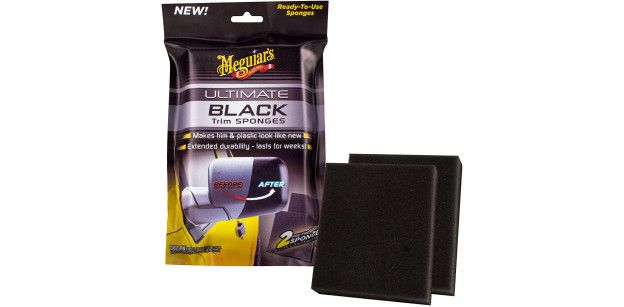 Aplicatori Plastic Exterior Meguiars Ultimate Black Trim Sponges