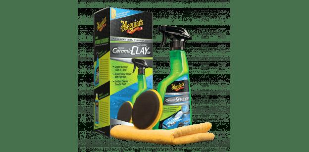 Kit Decontaminare Meguiars Hybrid Ceramic Quik Clay Kit
