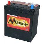 ACUMULATOR BANNER POWER BULL 40ah - borna inversa
