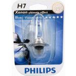 Bec H7 12V 55W PX26d BLUE VISION ULTRA (BLISTER) PHILIPS