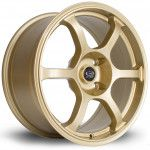 Janta Aliaj Rota Wheels Boost R17 7.5J 4x114 ET45 Gold