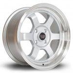 Janta Aliaj Rota Wheels Grid-V R15 7J 4x100 ET20 RLSilver