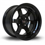 Janta Aliaj Rota Wheels Grid-V R15 8J 4x114 ET0 Black