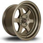 Janta Aliaj Rota Wheels Grid-V R15 8J 4x114 ET0 Bronze