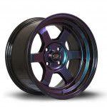 Janta Aliaj Rota Wheels Grid-V R15 8J 4x100 ET0 NeoChrome