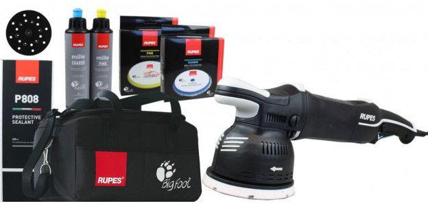 Masina Polish Rupes LK900E Bigfoot Mille Deluxe Kit