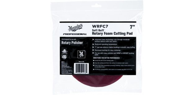 Burete Polish Meguiars Rotary Foam Cutting Pad 180 mm