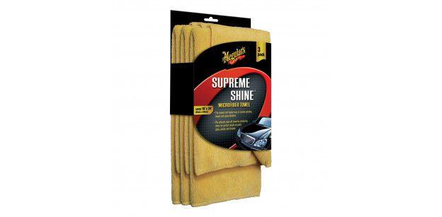Laveta Microfibra Meguiars Supreme Shine 3 pack
